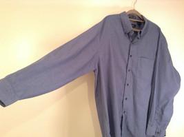 Blue Plaid Long Sleeve Van Hensen Wrinkle Free Stain Shield Shirt Size XL image 2