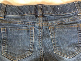 Blue Jean Shorts by SO Front and Back Pockets Zipper and Button Closure Size 12 image 5