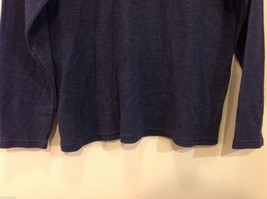 Bobbie Brooks Dark Blue Turtleneck Sweater, Size L (12/14) image 4