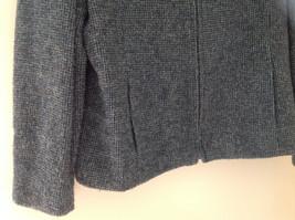 Blue Jones New York Twill Like Pattern Collared Light Winter Jacket Size 12 image 3