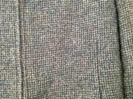 Blue Jones New York Twill Like Pattern Collared Light Winter Jacket Size 12 image 4
