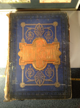 Blue L Academia 1878 Spanish Book Appears to be Encyclopedia or Reference Book image 2
