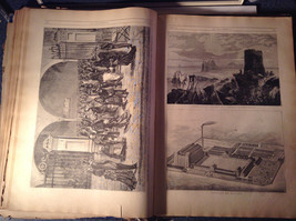 Blue L Academia 1878 Spanish Book Appears to be Encyclopedia or Reference Book image 9