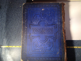 Blue L Academia 1878 Spanish Book Appears to be Encyclopedia or Reference Book image 11