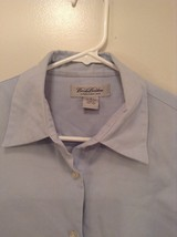 Blue Long Sleeve Button Up 100 Percent Cotton Brooks Brothers Shirt Size Medium image 2