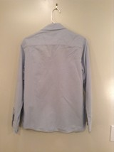 Blue Long Sleeve Button Up 100 Percent Cotton Brooks Brothers Shirt Size Medium image 4