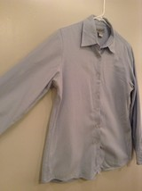 Blue Long Sleeve Button Up 100 Percent Cotton Brooks Brothers Shirt Size Medium image 3