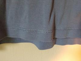 Blue St Johns Bay V Neck Three Quarter Length Sleeves Shirt Size Large image 3