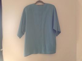 Blue Teal Checkered Patterned Matching 3 Piece Scarf  Skirt Set Size M Pendleton image 4