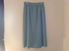 Blue Teal Checkered Patterned Matching 3 Piece Scarf  Skirt Set Size M Pendleton image 5