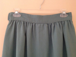 Blue Teal Checkered Patterned Matching 3 Piece Scarf  Skirt Set Size M Pendleton image 6