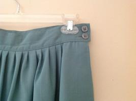 Blue Teal Checkered Patterned Matching 3 Piece Scarf  Skirt Set Size M Pendleton image 7