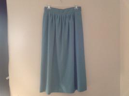 Blue Teal Checkered Patterned Matching 3 Piece Scarf  Skirt Set Size M Pendleton image 8