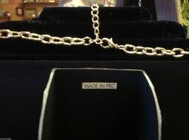 Brand new designer orange with red grey gold accents statement bib necklace image 5