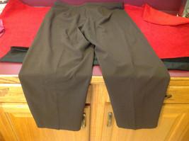 Briggs New York Ladies Long Brown Pants Size 18S image 4