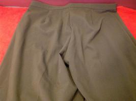 Briggs New York Ladies Long Brown Pants Size 18S image 5