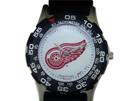 Detroit Red Wings Hockey Watch - $44.95