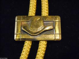 Bolo Tie with Cowboy Hat Clasp image 2
