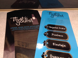 Bottled Up Collection Drink Tags With Attitude Beer Bottles Overserved Einstein image 4