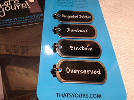 Bottled Up Collection Drink Tags With Attitude Beer Bottles Overserved Einstein image 3