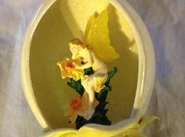 Bradford Editions Heirloom Porcelain Flower Fairy Ornament Ribbon for Hanging image 2