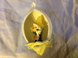 Bradford Editions Heirloom Porcelain Flower Fairy Ornament Ribbon for Hanging image 3