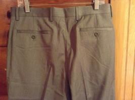 Braggi by Louis Raphael Gray Pleated Dress Pants Cuffed Bottom Size 34 by 32 image 5