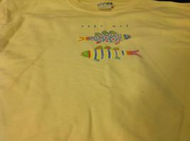 Breeze Up Kids Yellow Girls Graphic Sweatshirt Size XL image 2