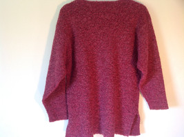 Brick Red Prides Landing Pullover Sweater Made in Hong Kong Size Small image 2