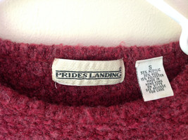 Brick Red Prides Landing Pullover Sweater Made in Hong Kong Size Small image 3