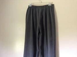 Briggs New York Gray Dress Pants Size 8 Elastic Waistband image 5
