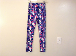 Bright Spring Summer Vibrant Colored leggings NEW in package  image 2
