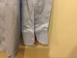 Brioni Light Blue Classic 100% Cotton Dress Shirt, NO Size tag image 3