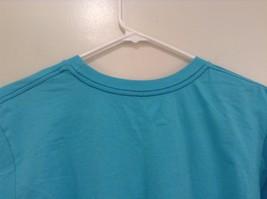 Brook Davis Mustardstache Size Large Short Sleeve Graphic T Shirt Light Blue image 5