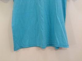 Brook Davis Mustardstache Size Large Short Sleeve Graphic T Shirt Light Blue image 4