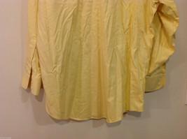 Brooks Brothers Soft Yellow 100% cotton Shirt, Size 16-1/2 (33), No pockets image 8