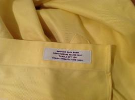 Brooks Brothers Soft Yellow 100% cotton Shirt, Size 16-1/2 (33), No pockets image 10