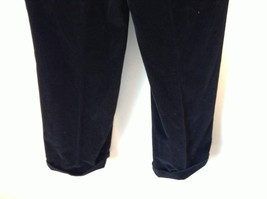 Brooks Brothers Jet Black Corduroy Pants Size 36 Made in Italy image 5