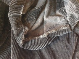 Brooks Brothers Jet Black Corduroy Pants Size 36 Made in Italy image 8