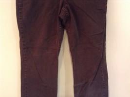 Brown Boot Cut Fit Size 8 Liz Claiborne Casual Pants Button and Zipper Closure image 3