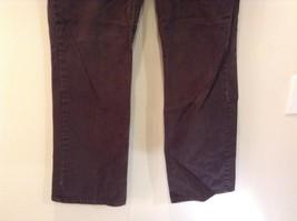 Brown Boot Cut Fit Size 8 Liz Claiborne Casual Pants Button and Zipper Closure image 4