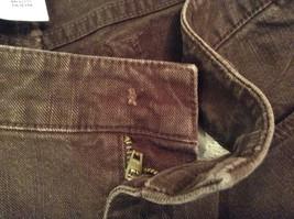 Brown Boot Cut Fit Size 8 Liz Claiborne Casual Pants Button and Zipper Closure image 10