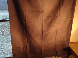 Brown Curtain Metal Rings for Hanging on Curtain Rod  64 Inches by 42 Inches image 3