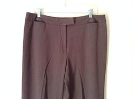 Brown Dress Pants by Pendleton Polyester Rayon Spandex Size 14 image 2