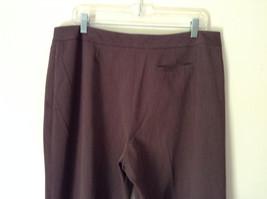 Brown Dress Pants by Pendleton Polyester Rayon Spandex Size 14 image 6