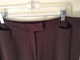 Brown Dress Pants by Pendleton Polyester Rayon Spandex Size 14 image 5