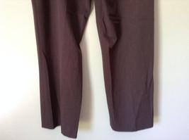 Brown Dress Pants by Pendleton Polyester Rayon Spandex Size 14 image 8