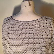 Brown Green Tan Beige Reba Rose Button Down Long Sleeve Sweater Size Medium image 8