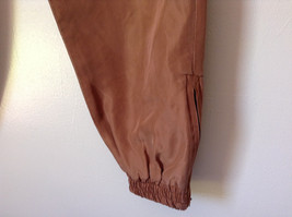 Brown Lined Pants Shell and Lining is 100 Percent Silk Size Small image 4