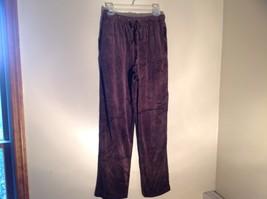 Brown Zip Up Hannah Sweatshirt  Size Medium soft fleece w matching bottoms image 9